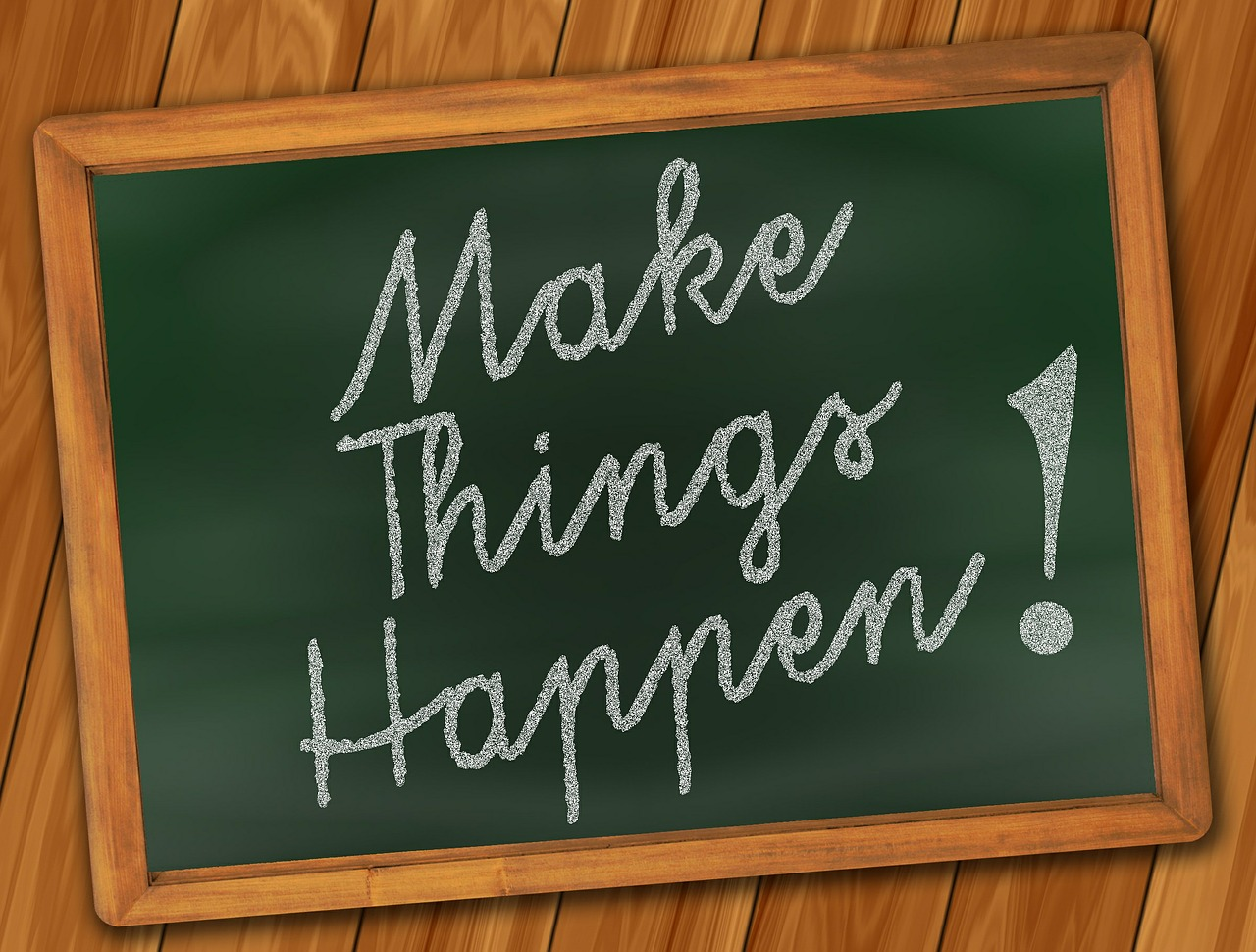Achievement based programs help you make things happen.