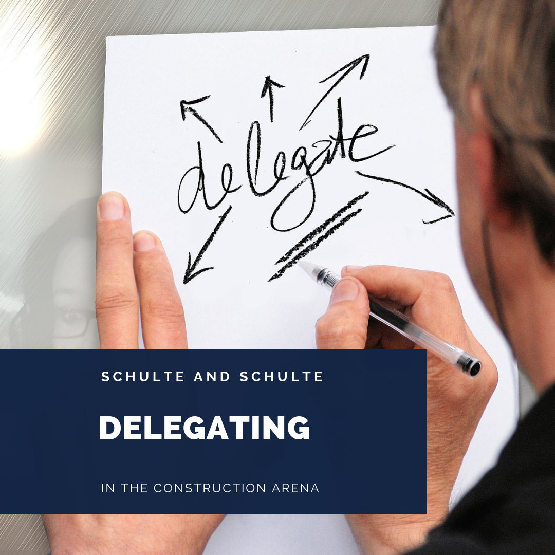 Delegating helps you grow your construction business