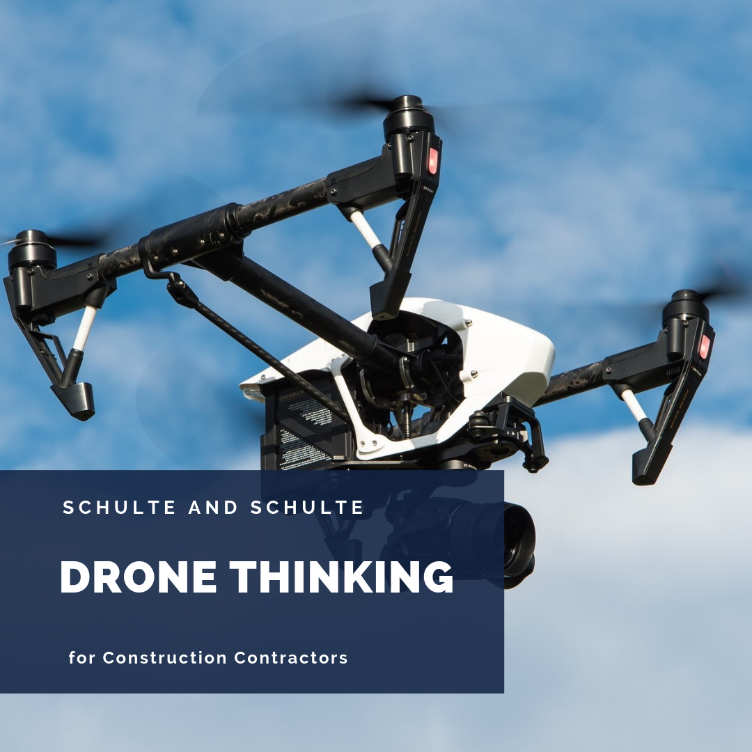 Drone thinking sets you above the crowd.