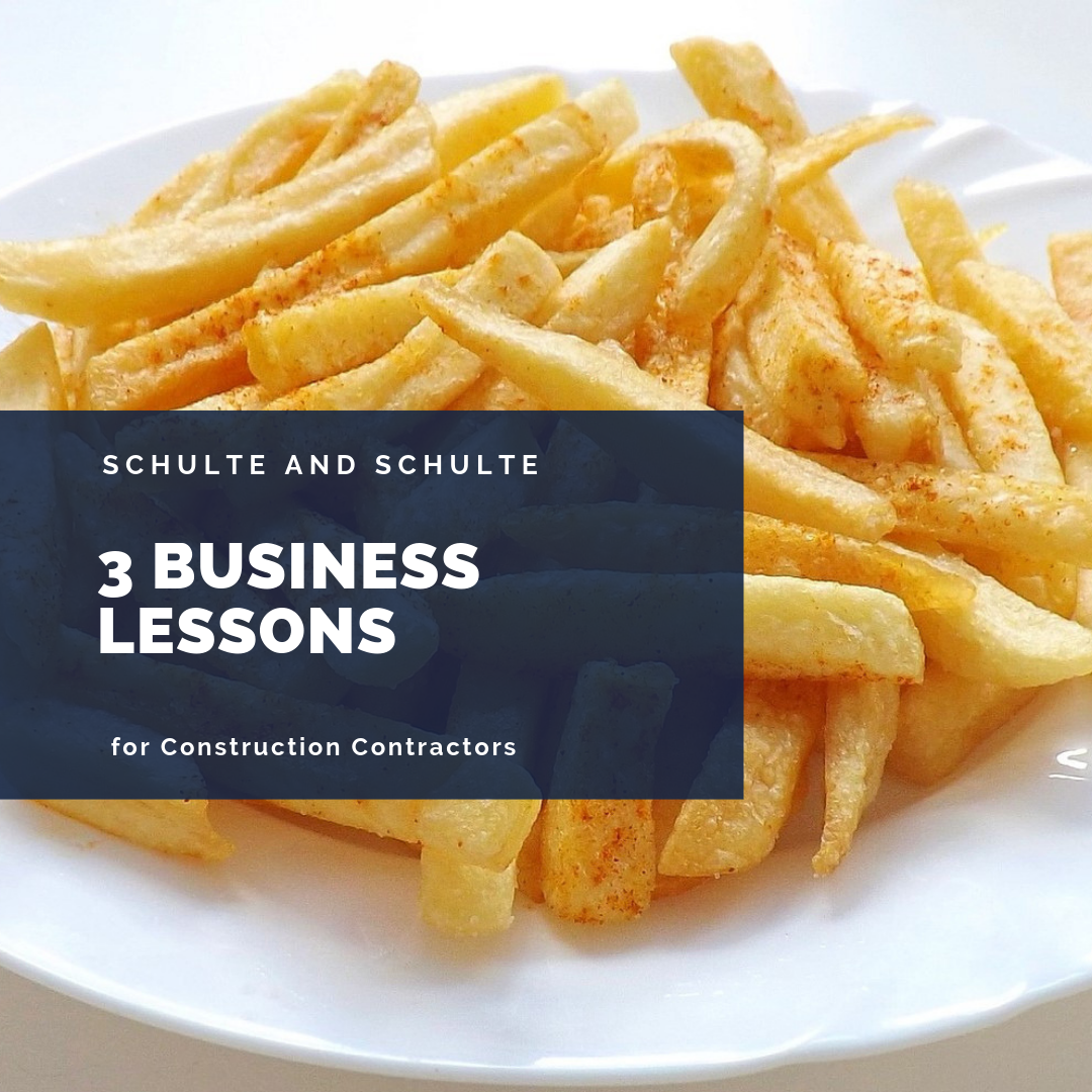 Business Lessons concerning 3-year-olds and french fries