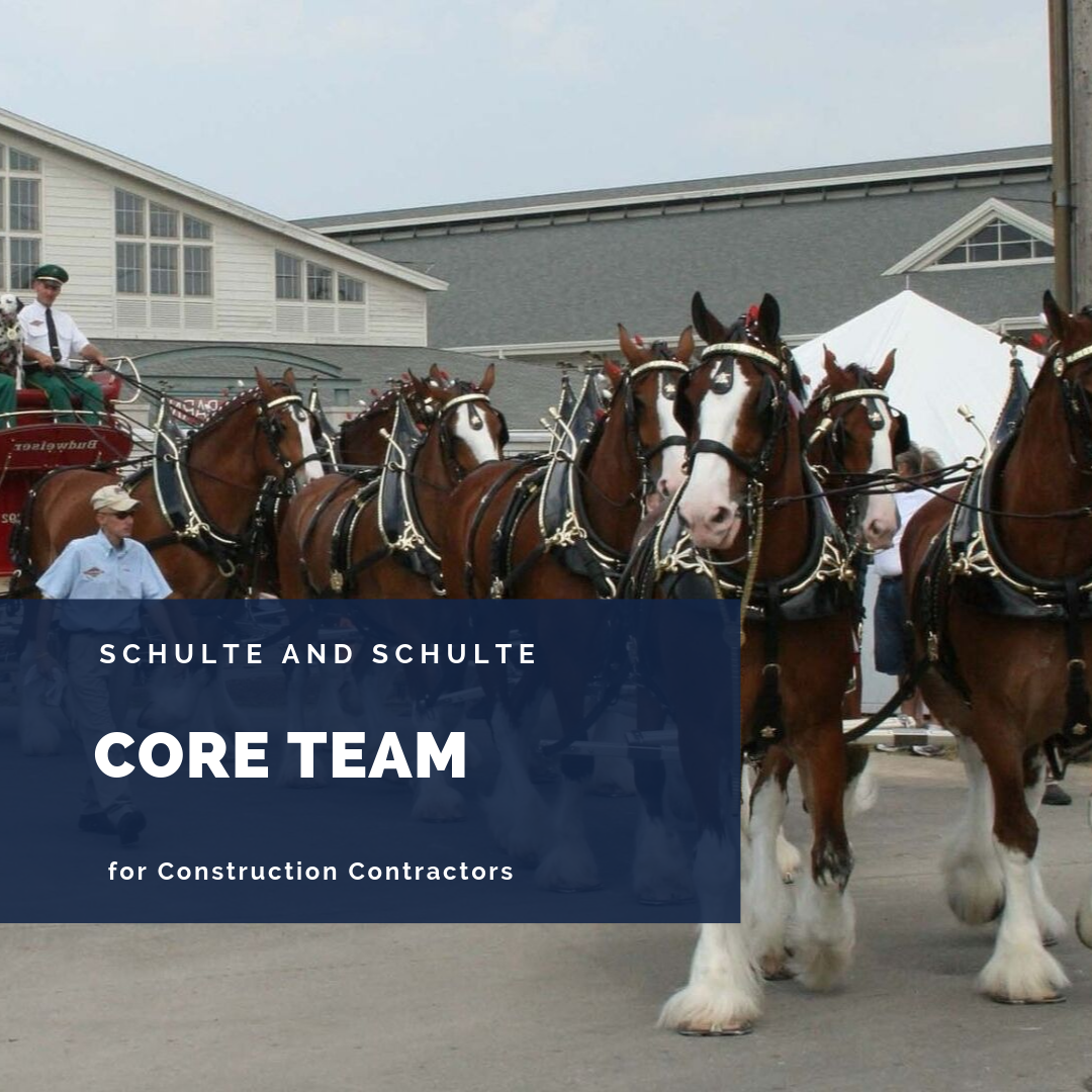 Building a core team to improve your construction business