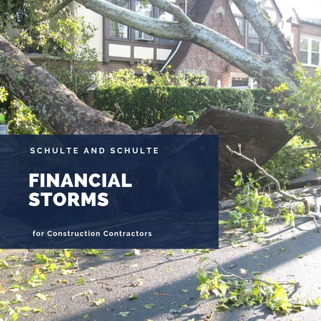 Preparing for financial storms in your construction business