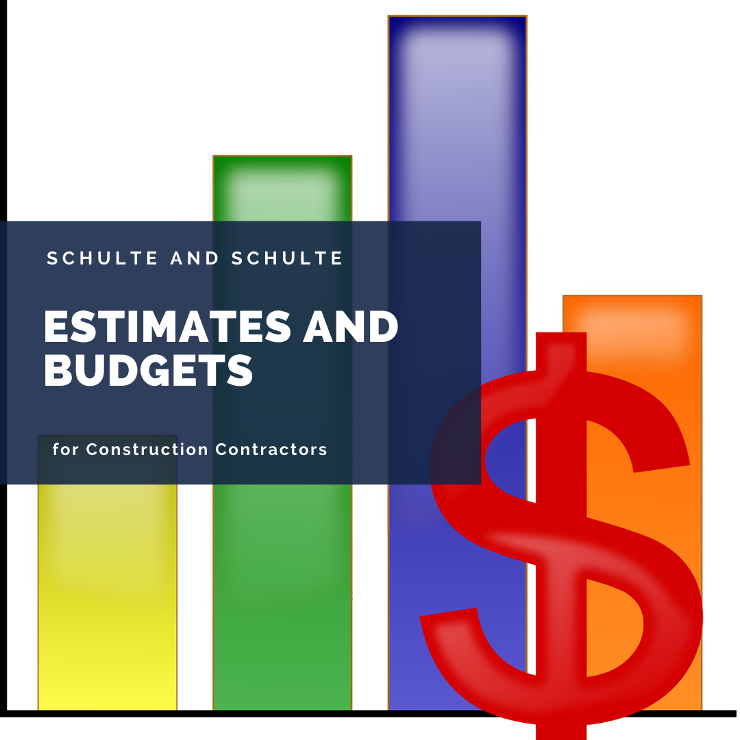 Estimates and Budgets for construction contractors simplified through software