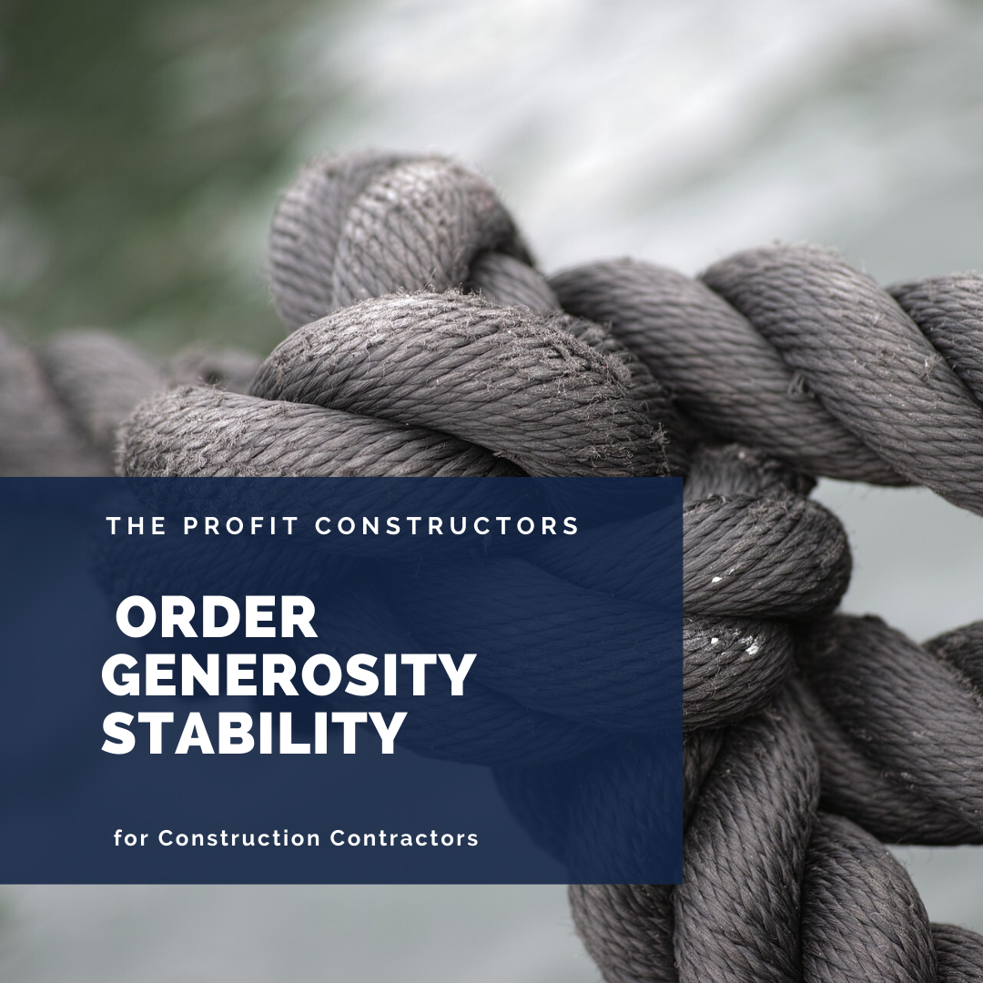 Order Generosity and Stability during a crisis