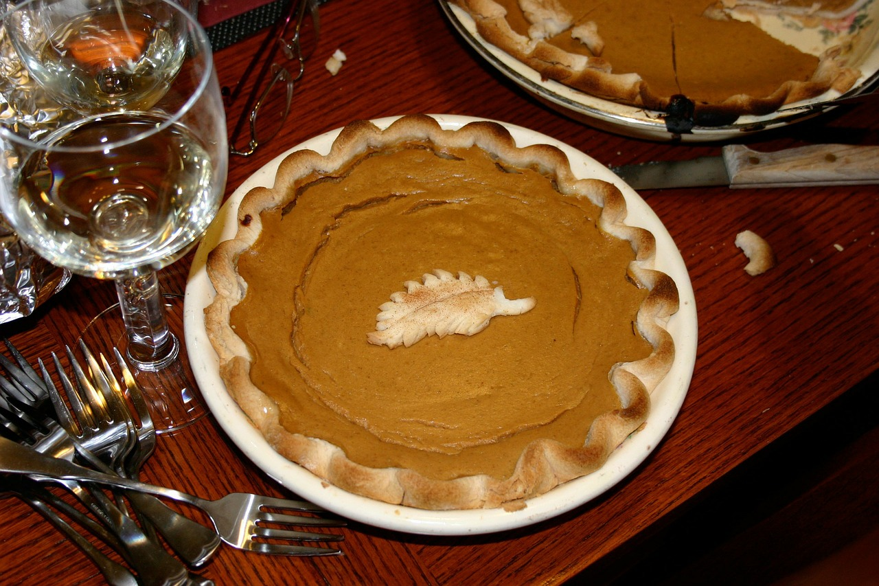 Thanksgiving is incomplete without pumpkin pie and giving of thanks.