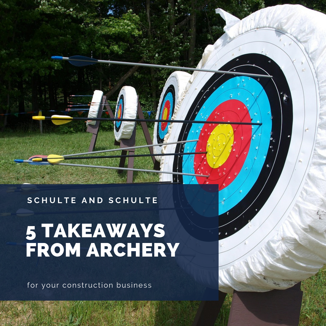 Construction Business lessons from Archery