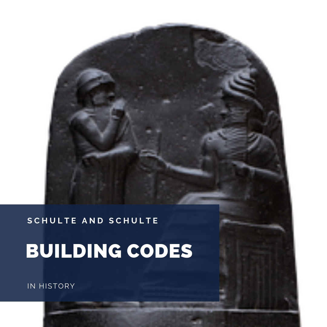 Building Codes from history form a basis for today's codes