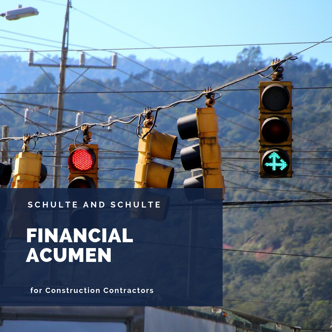 Getting all the signals right when it comes to financial acumen.