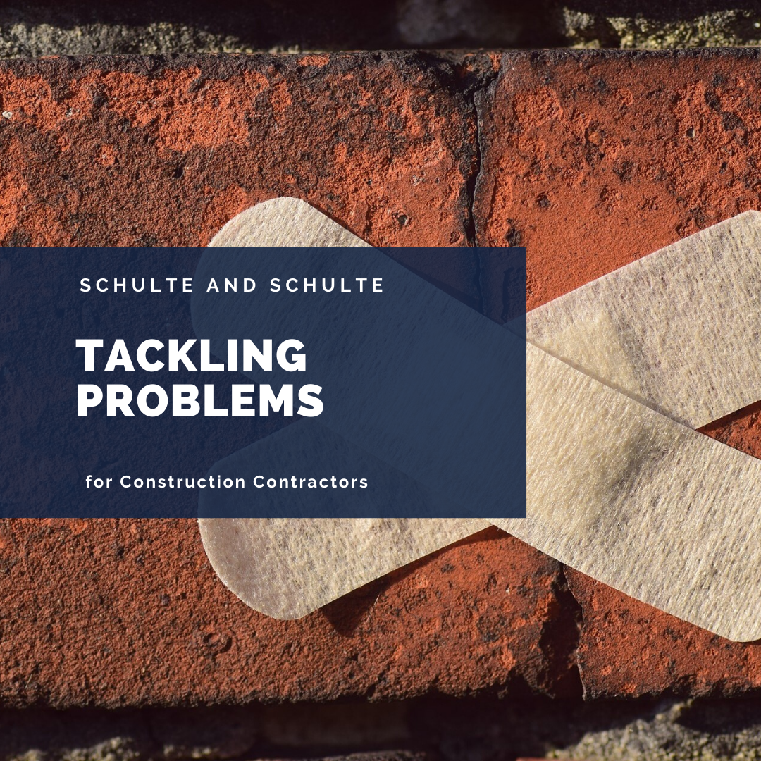 Tackling Problems for your construction business
