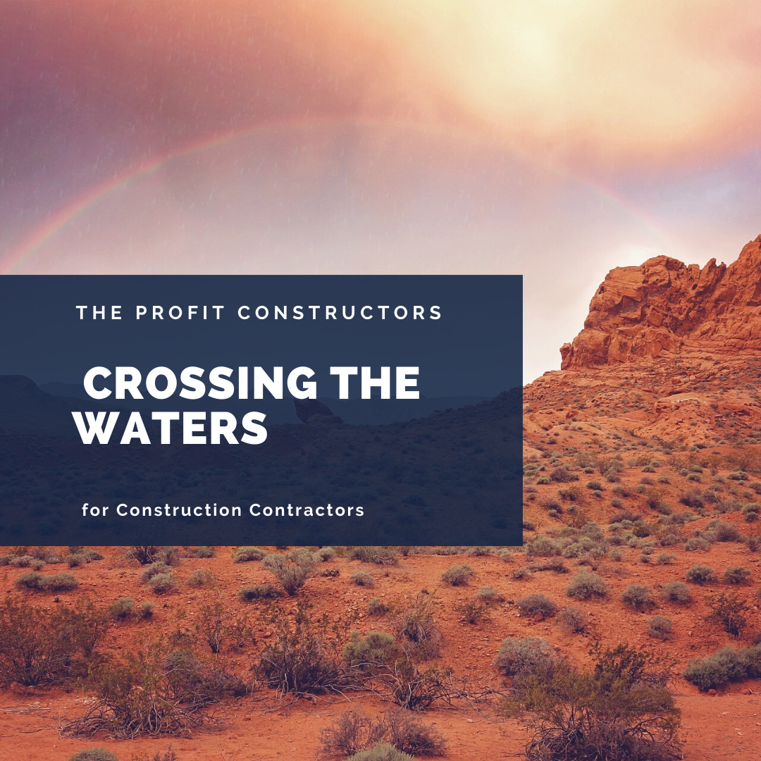 The story of a water crossing and rising above